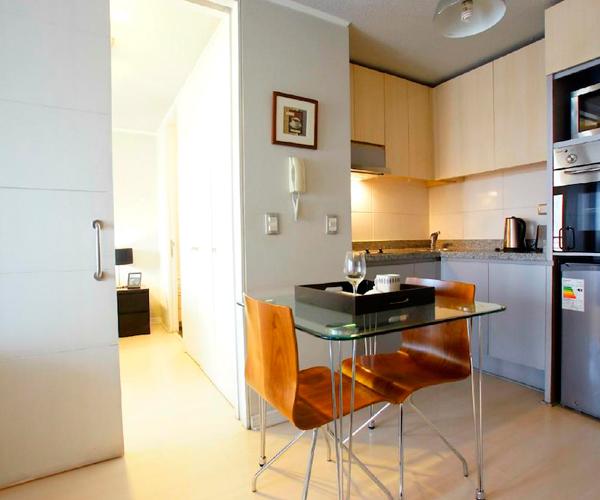 Apartamento 1 o 2 personas 1 dormitorio con salsa de estar