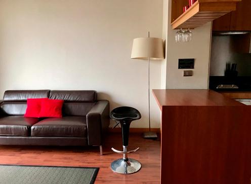 Apartamento 2 personas 1 dormitorio cama doble grande